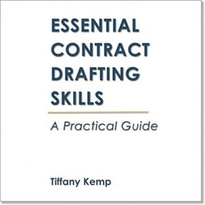 essential contract drafting skills book